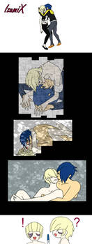 Jaryn x Oblio - private moments comic style
