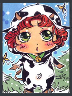 My little cow by Kaiko-Yoshinary