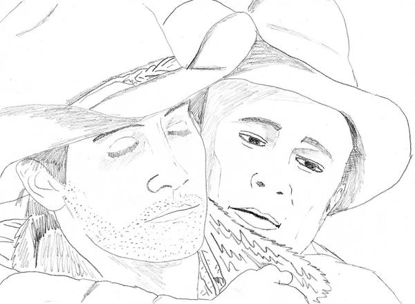 Brokeback Mountain Version 1 by JokerfiedCrane
