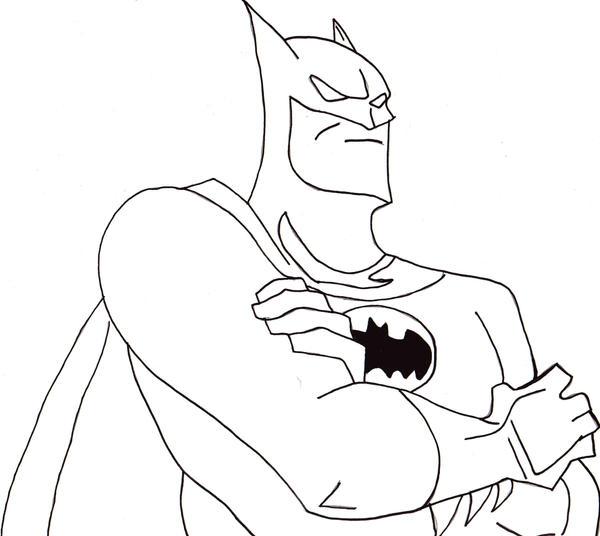 The Joker Line Art : Batman lineart by jokerfiedcrane on deviantart