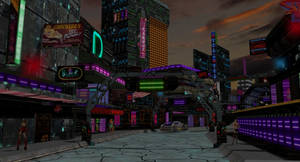 Scifi Red Light District