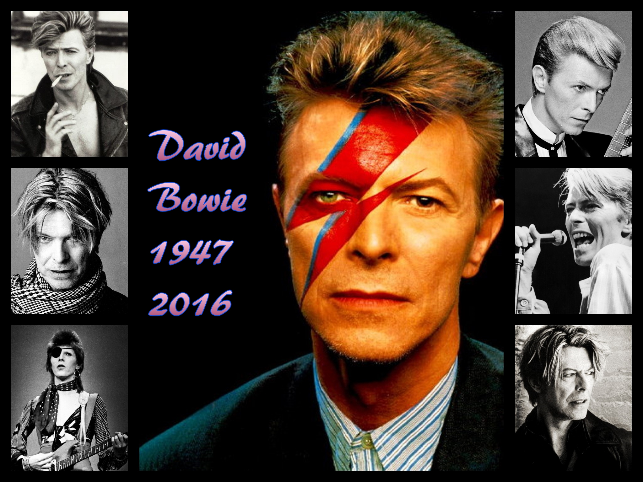 David Bowie 1947-2016. by scifilicious
