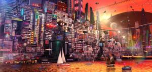 NEO HONGKONG 5 by scifilicious