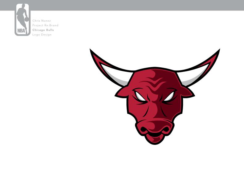 chicago bulls logo conceptark47 on deviantart