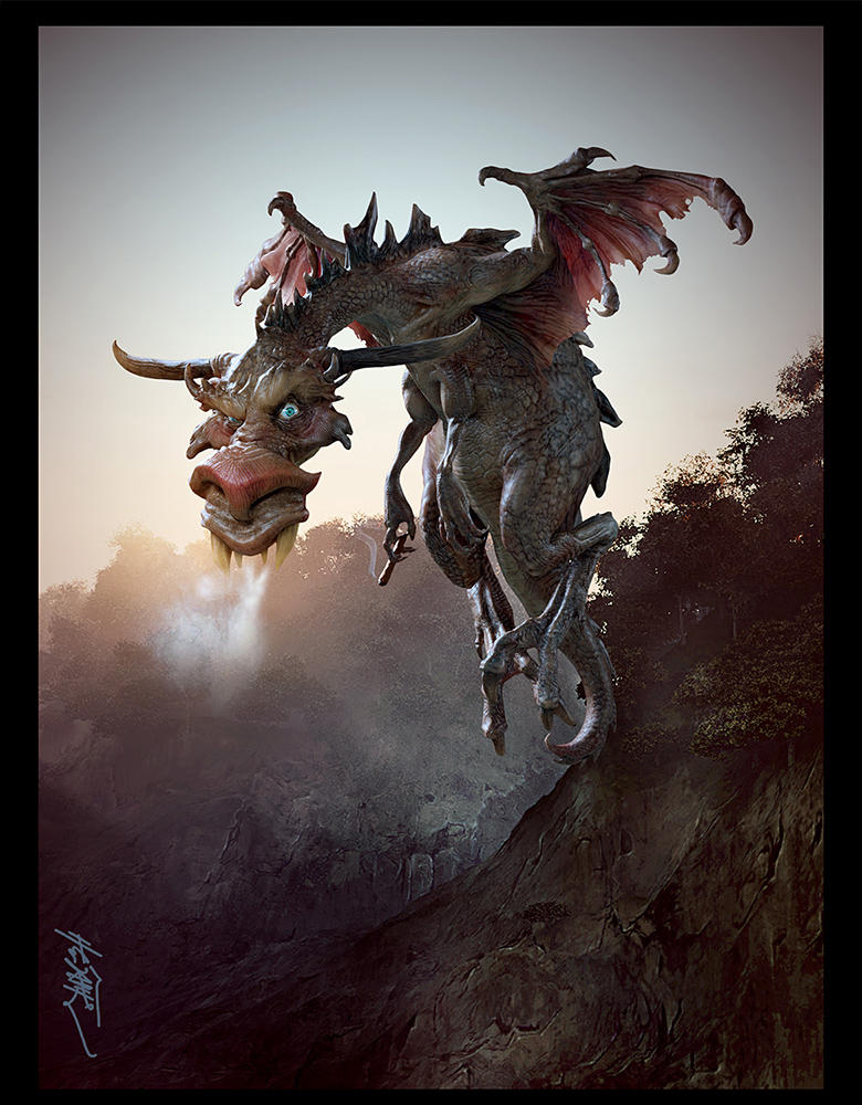 Roundeye Dragon