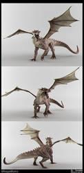 RenderTest-Dragon-Color by fireantz83