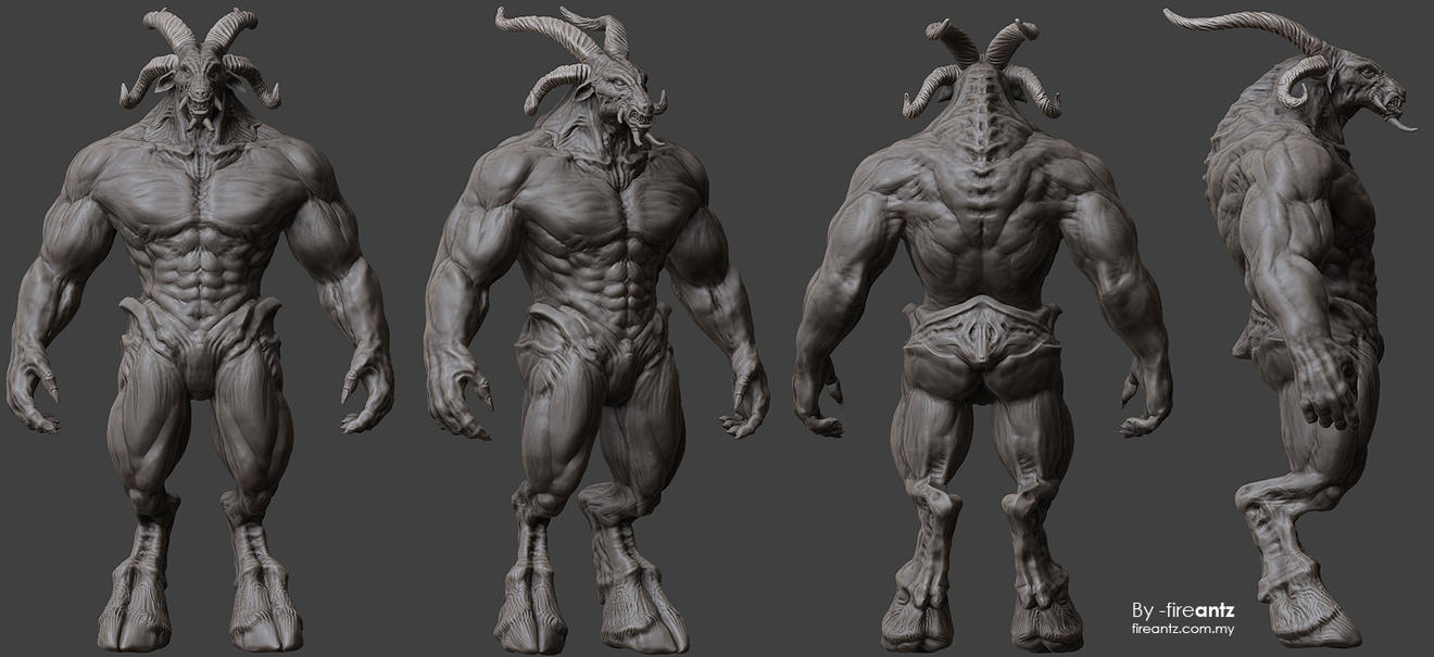dwiv 3d sculpt 02 by fireantz83 on deviantart