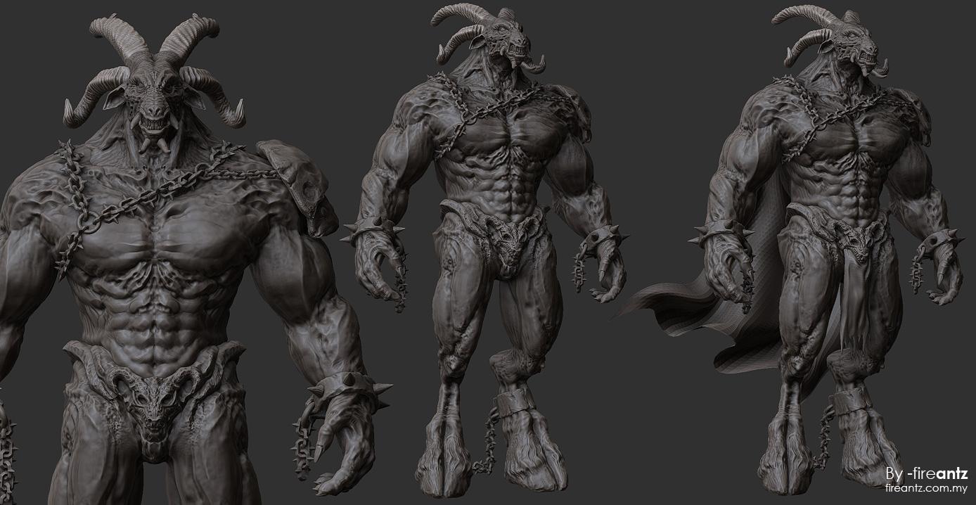 DW4 - 3D detail sculpt 02