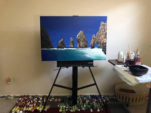 Cabo San Lucas - 24 x 36 - For Sale LewdArtist.com