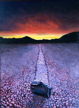 The Racetrack (Death Valley) - 18 x 24 - For Sale