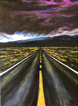 Storm - 12 x 16 - Acrylic on Canvas - For Sale!