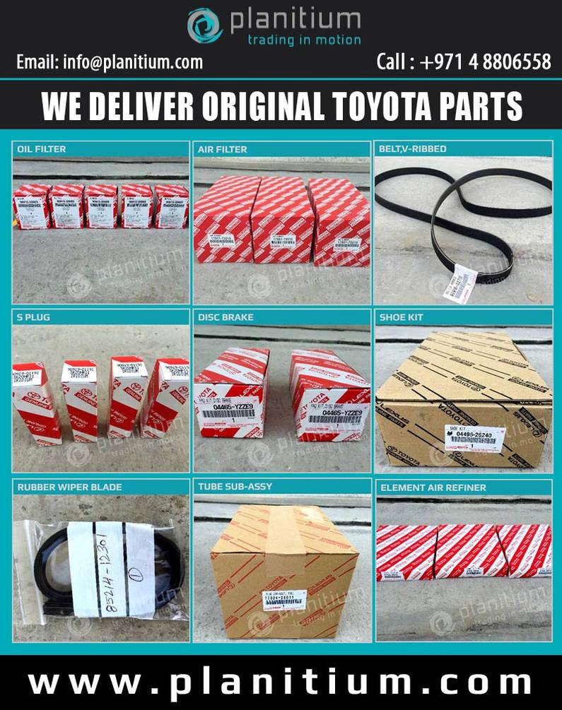 Toyota Parts Dealer >> Original Toyota Spare Parts Dealer Dubai By Planitium On Deviantart