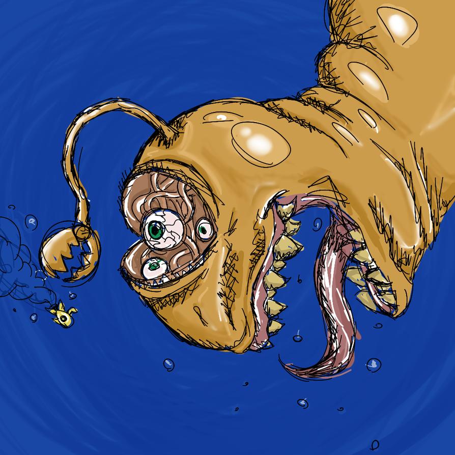 SAI sketch ( sorry for nightmares ) by BobbyMcJoey123