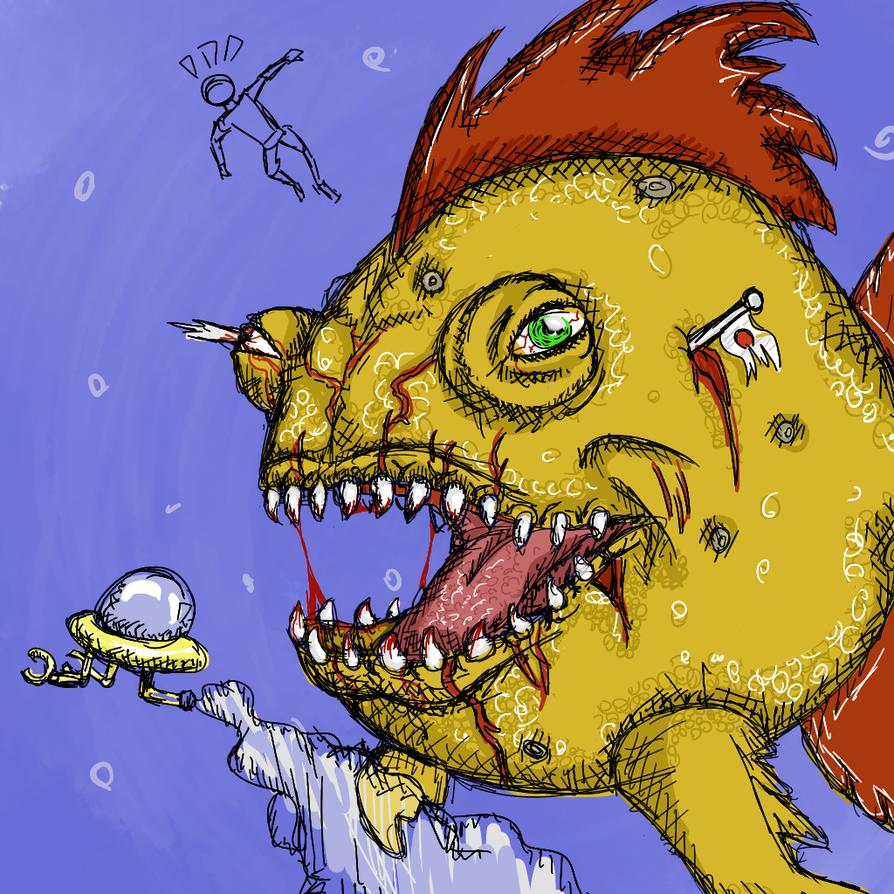 Puny Little Fishy by BobbyMcJoey123