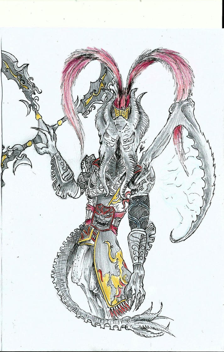 lu kraken bu by rockgothicgirl