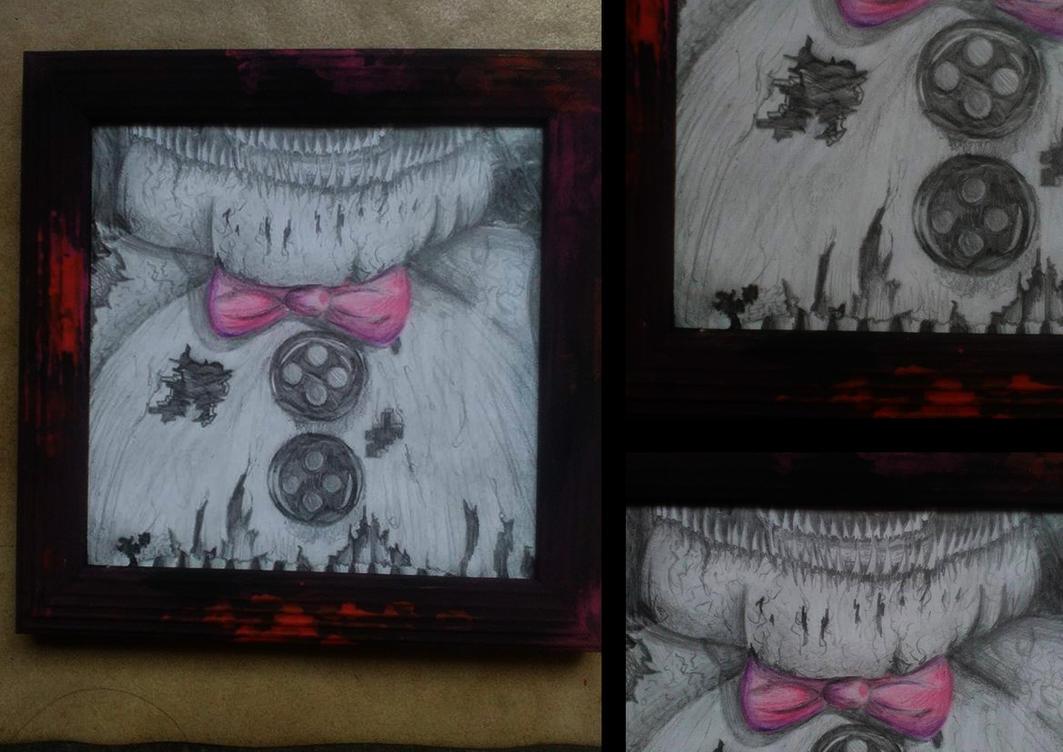 Fnaf 4 art by rockgothicgirl