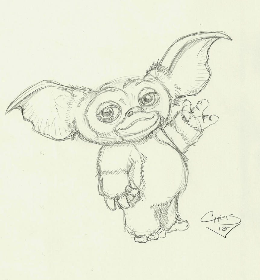 Gizmo sketch by comicninja