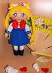 Usagi  in her uniform