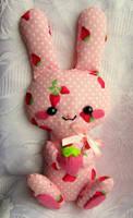 Strawberry bunny by annie-88