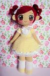 Spring flower ami doll