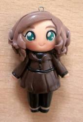 Kate Beckett clay doll by annie-88