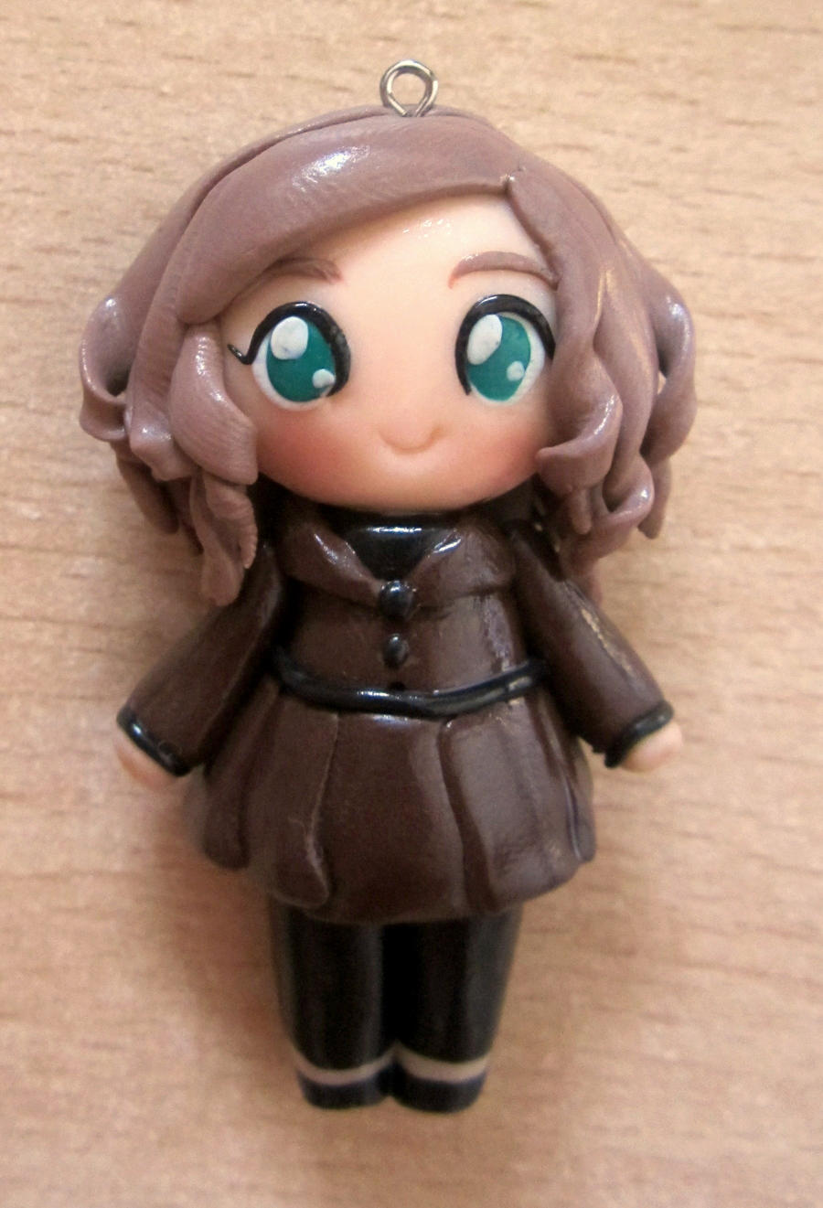 Kate Beckett clay doll by annie-88