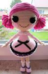 Lala inspired crochet doll