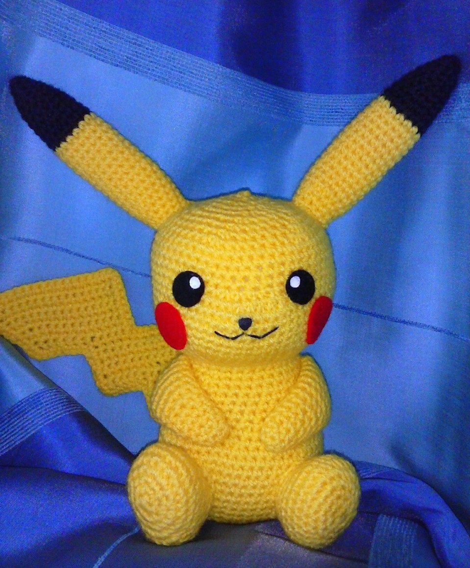 Amigurumi Free Patterns Bunny : Pikachu Amigurumi by annie-88 on DeviantArt