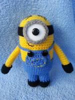 Stuart the minion by annie-88
