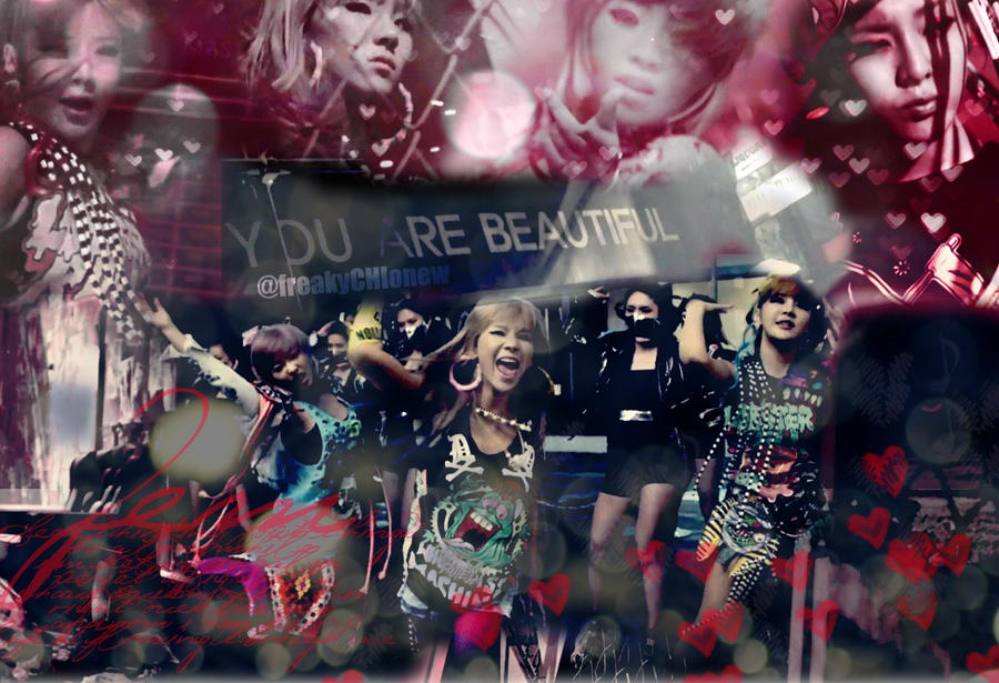 2ne1 Ugly wallpaper by freakyCHIonew