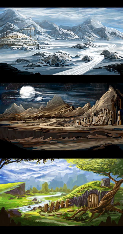 environment studies by nicholasgwee