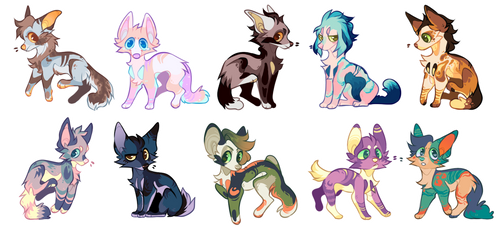 canine adopts [OPEN 7/10]