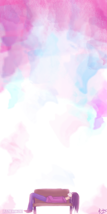 Painted Sky [SPEEDPAINT] by LizzieRozie