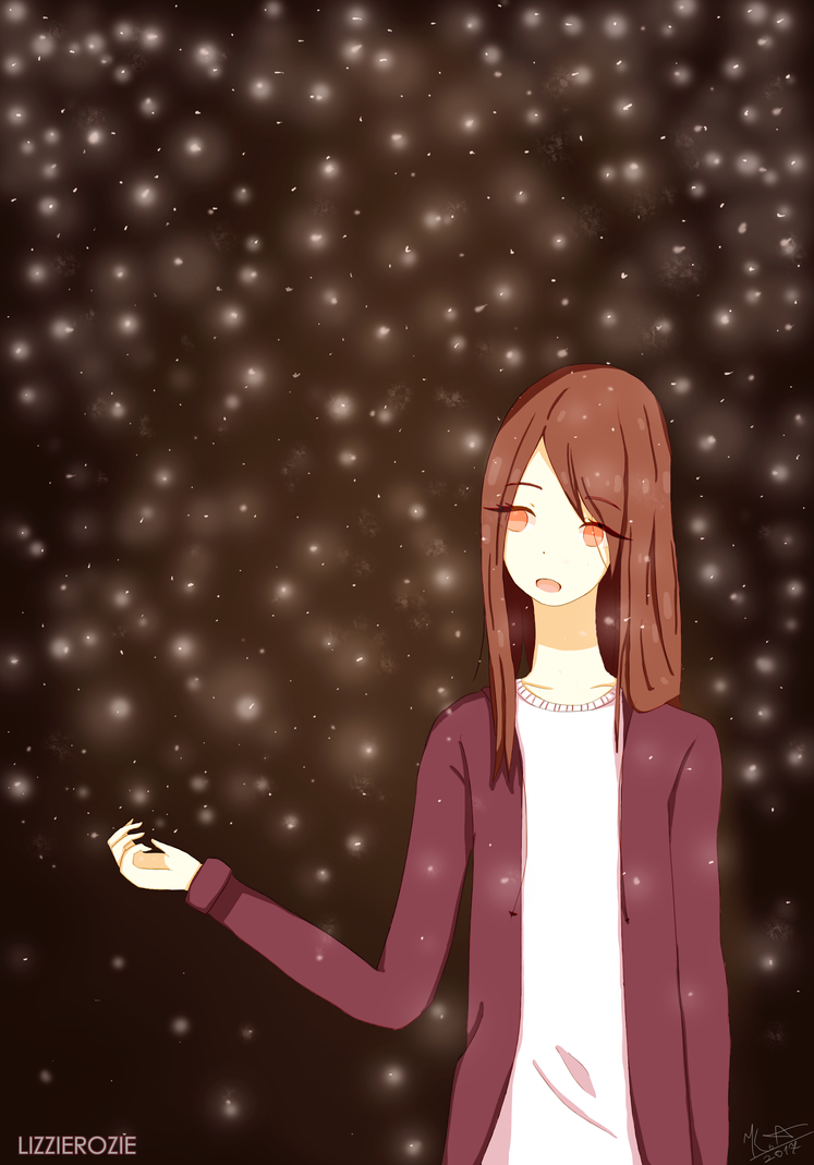 Fireflies [SPEEDPAINT] by LizzieRozie