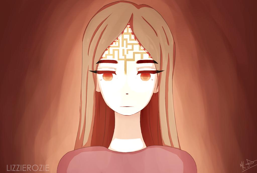 Labyrinth [SPEEDPAINT] by LizzieRozie
