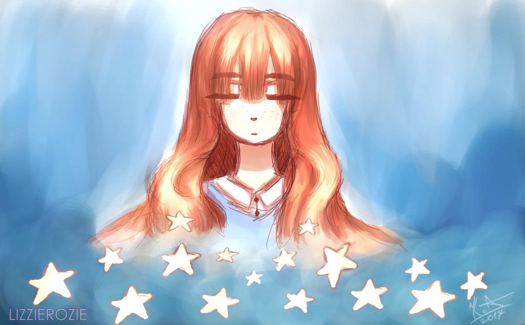 Stars [SPEEDPAINT] by LizzieRozie