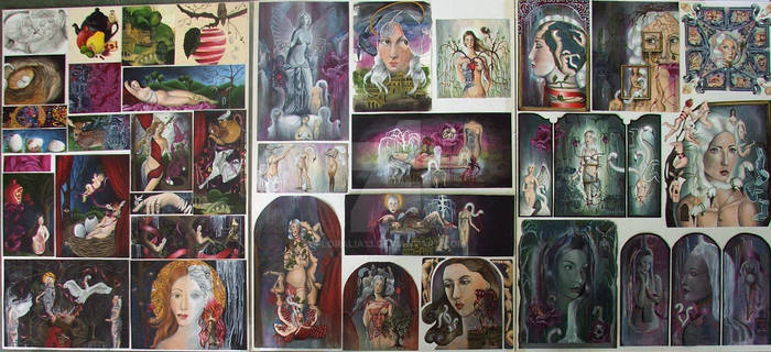 Level 3 NCEA Painting Folio