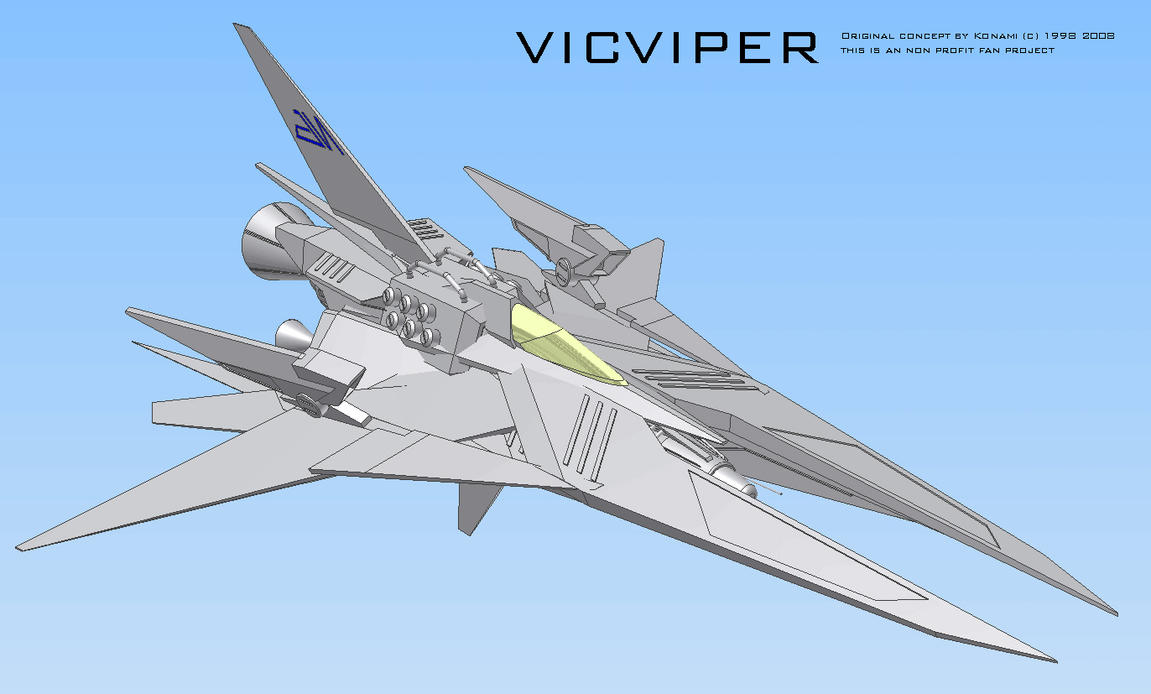 vicViper CAD screen 10 by 4-X-S