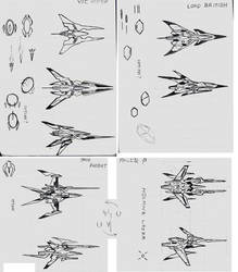 Gradius Gaiden doodle concept2