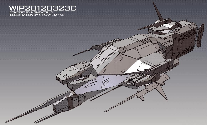WIP20120323C by myname1z4xs