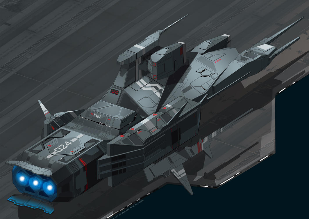Kushan Destroyer from Homeworld part2 by myname1z4xs