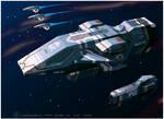 Kushan Heavy Cruiser of Homeworld1 [frameA]