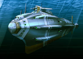 Tank submerged by 4-X-S