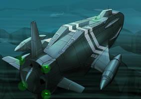 Tank submerge by 4-X-S
