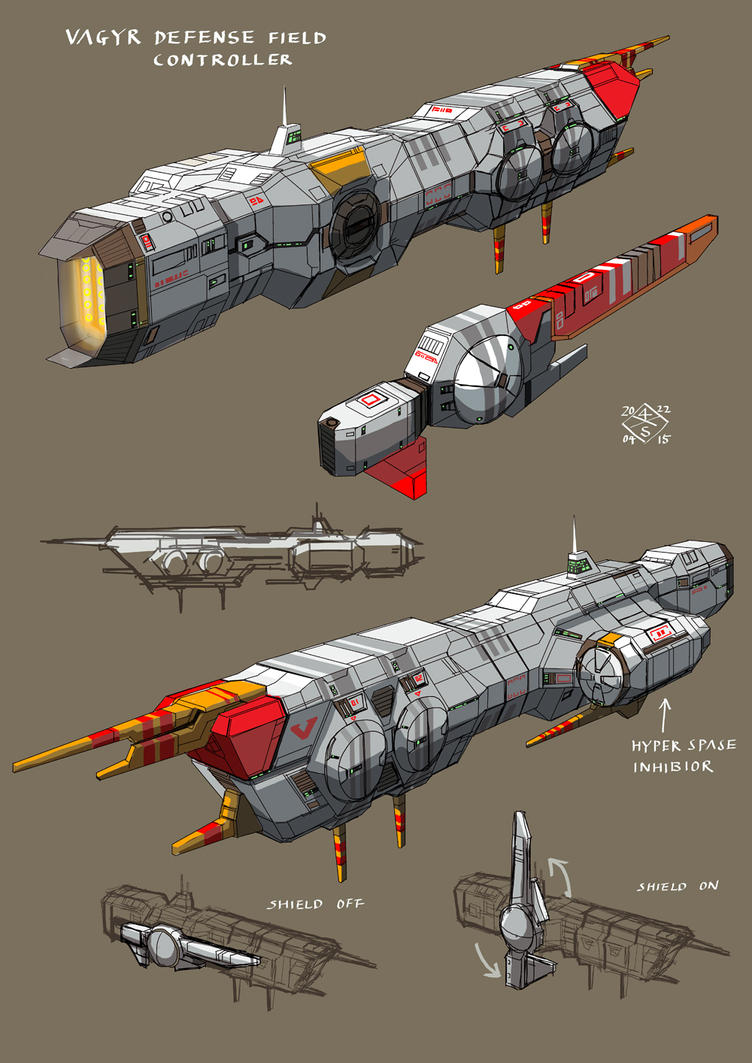Vaygr Defense Field Controller B by myname1z4xs