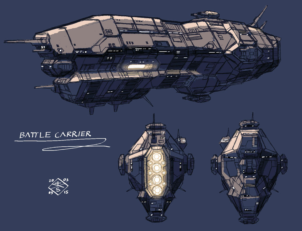 Battle Carrier by myname1z4xs
