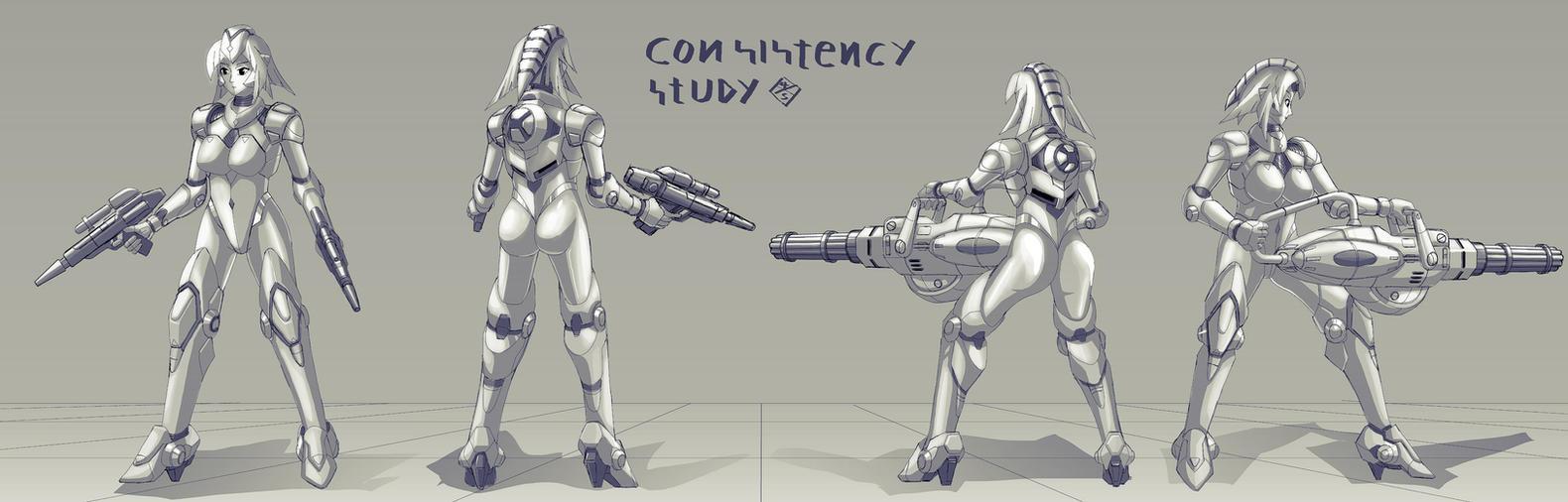 Consistency study by 4-X-S