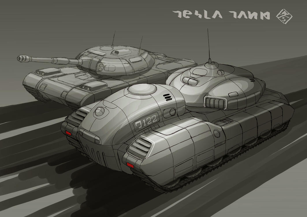 Tesla Tank B by 4-X-S
