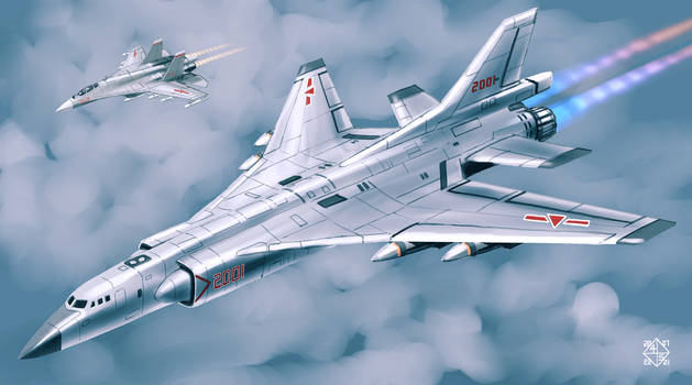 H7K supersonic bomber