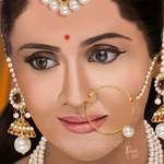 Rajput Bride by SreejaRenganath